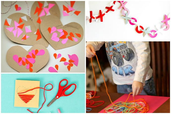 Easy Valentine Crafts For Preschoolers  11 easy Valentine s Day crafts for preschoolers young kids