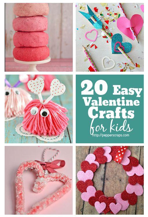 Easy Valentine Crafts For Preschoolers  Best 25 Easy valentine crafts ideas on Pinterest