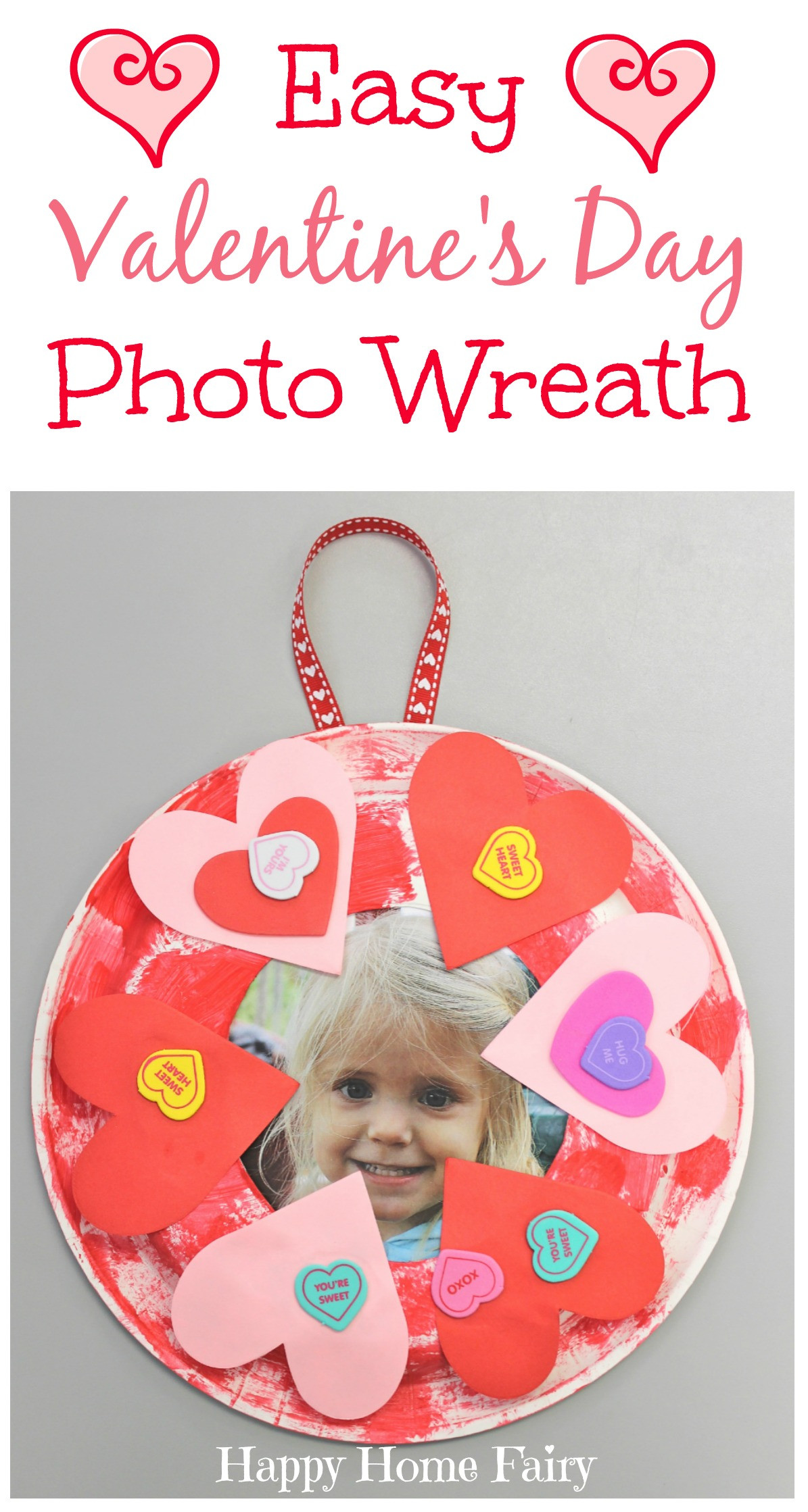 Easy Valentine Crafts For Preschoolers  Easy Valentine s Day Craft Happy Home Fairy