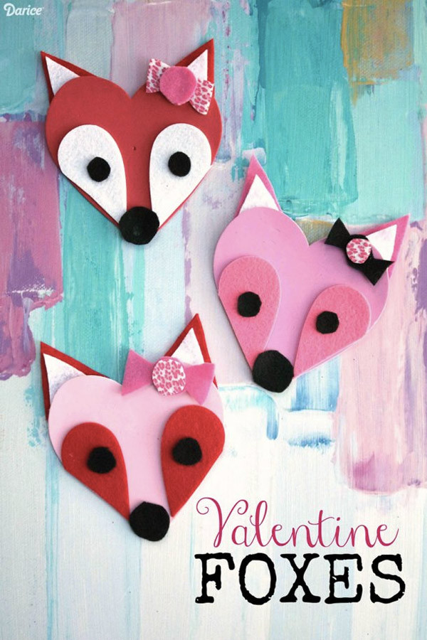Easy Valentine Crafts For Preschoolers  10 Easy Valentine Crafts for Kids DIY Projects to Try