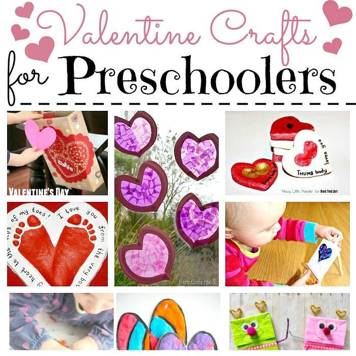 Easy Valentine Crafts For Preschoolers  Valentine Crafts for Preschoolers Red Ted Art s Blog