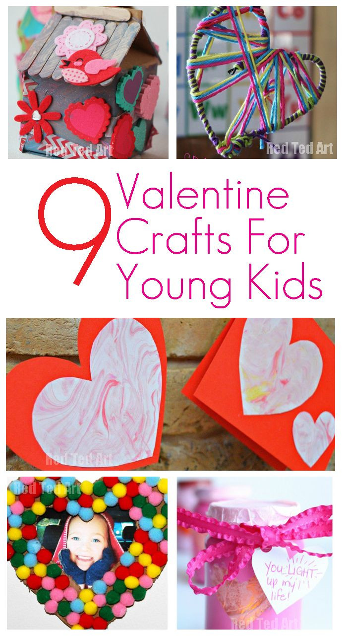 Easy Valentine Crafts For Preschoolers  1000 images about Holiday Be Mine on Pinterest