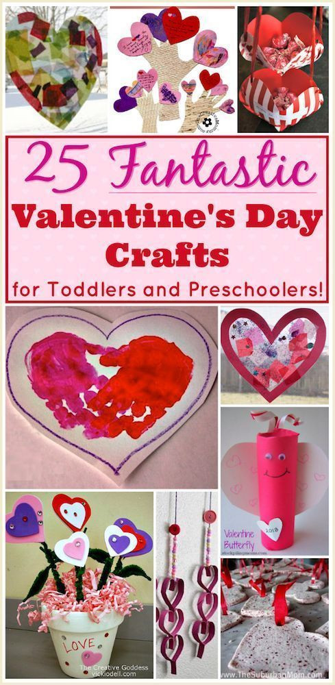 Easy Valentine Crafts For Preschoolers  Valentine Crafts for Preschoolers 25 Easy Projects for