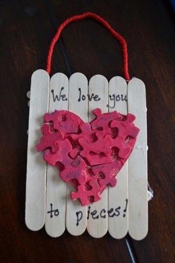 Easy Valentine Crafts For Preschoolers  23 Easy Valentine s Day Crafts That Require No Special