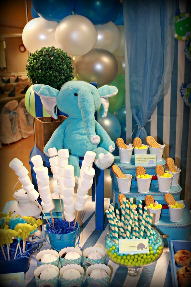 Elephant Birthday Decorations  25 best Elephant birthday ideas on Pinterest