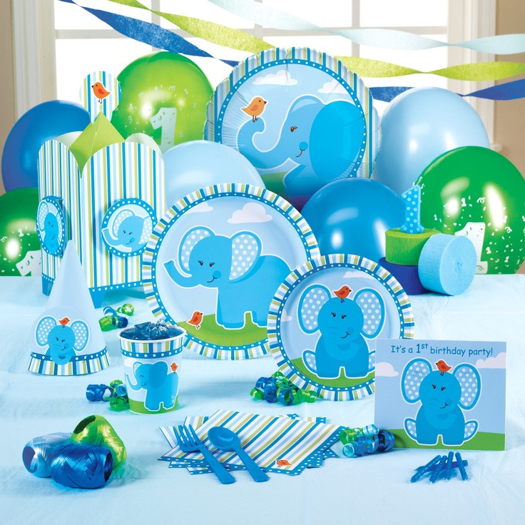 Elephant Birthday Decorations  138 best Elephant Theme Baby Shower images on Pinterest
