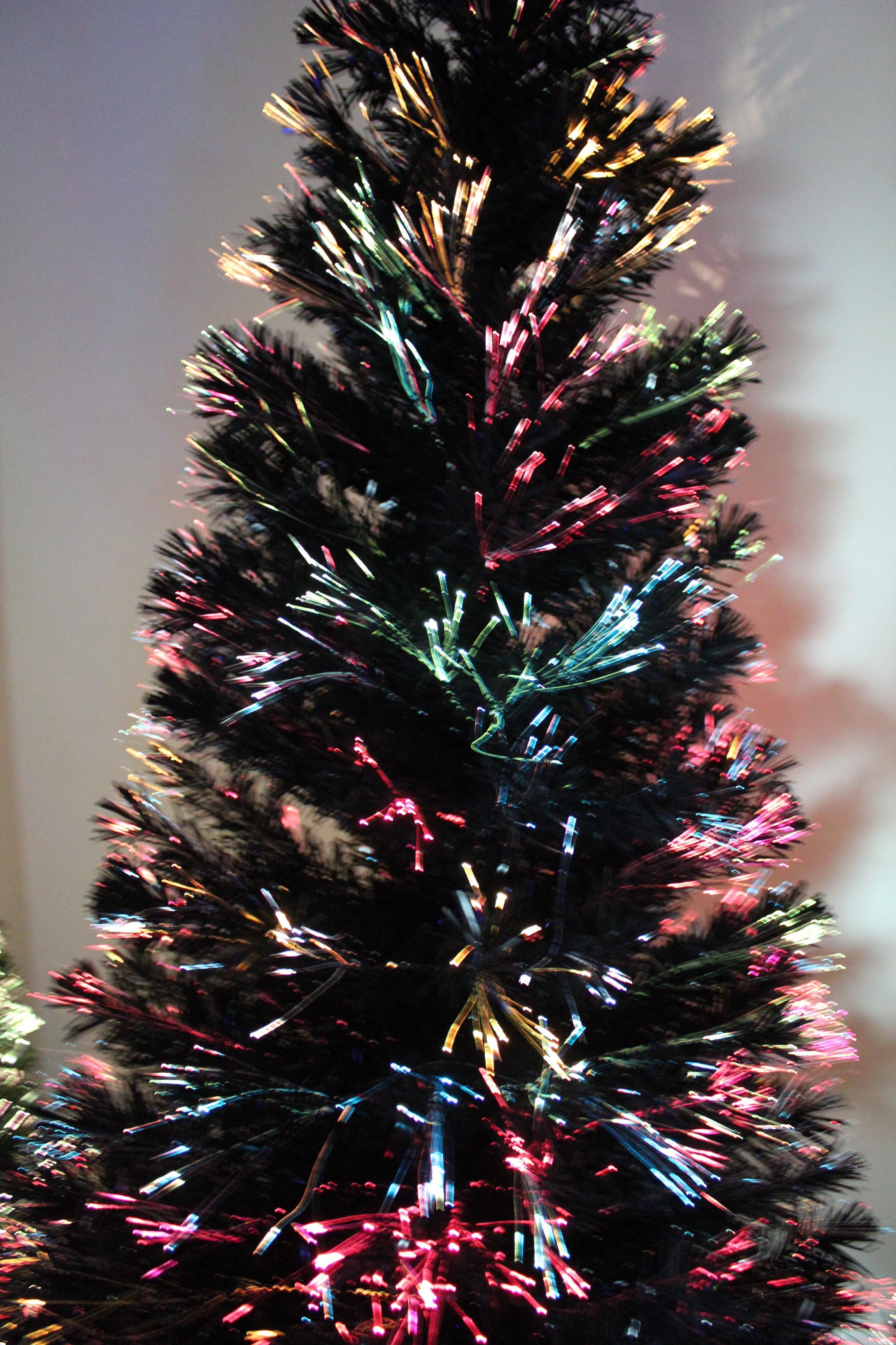 Fiber Optic Christmas Lighting  Fiber Optic Christmas Tree 7Ft
