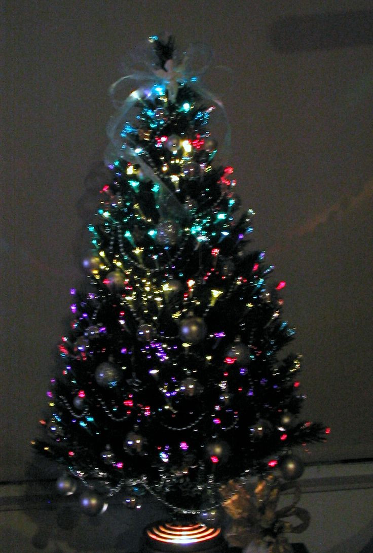 Fiber Optic Christmas Lighting  1000 images about Small Fiber Optic Christmas Trees on