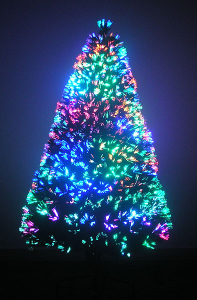 Fiber Optic Christmas Lighting  The Best Things The Best Artificial Fake Christmas