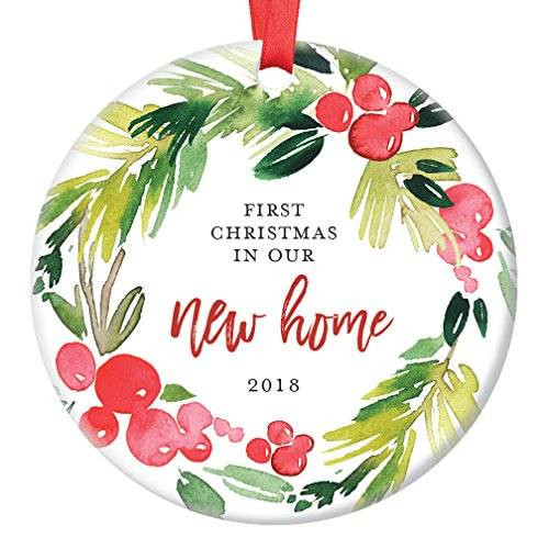 First Apartment Christmas Ornament  Amazon New Home Christmas Ornament 2018 First Year