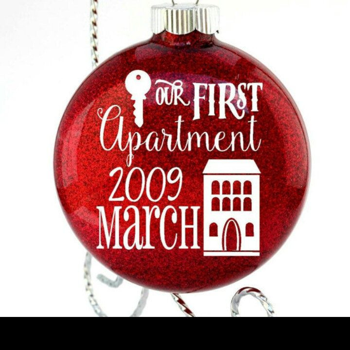 First Apartment Christmas Ornament  Best 25 First apartment t ideas on Pinterest