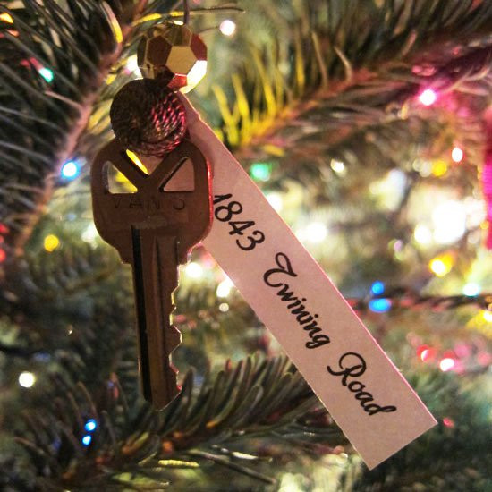 First Apartment Christmas Ornament  first home christmas ornament idea