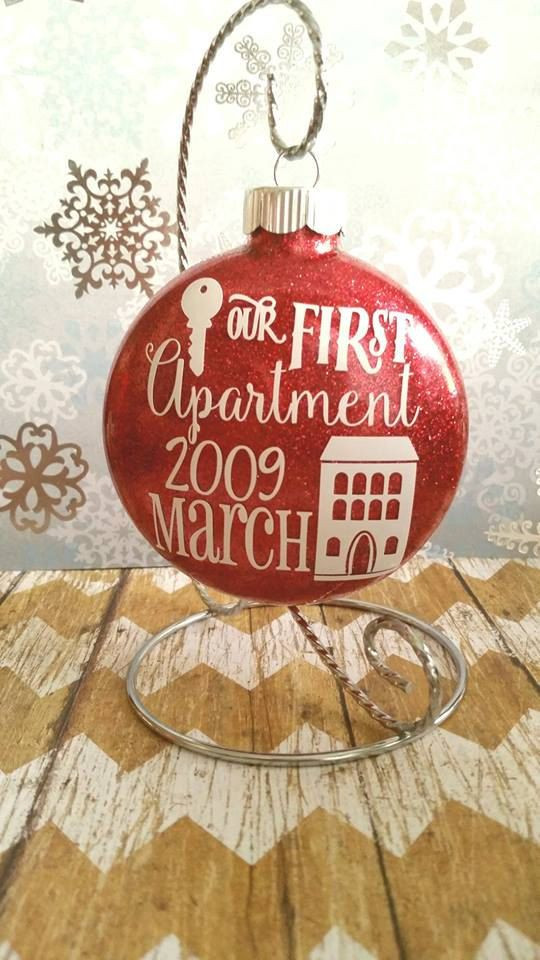First Apartment Christmas Ornament  25 best ideas about Apartment Christmas on Pinterest