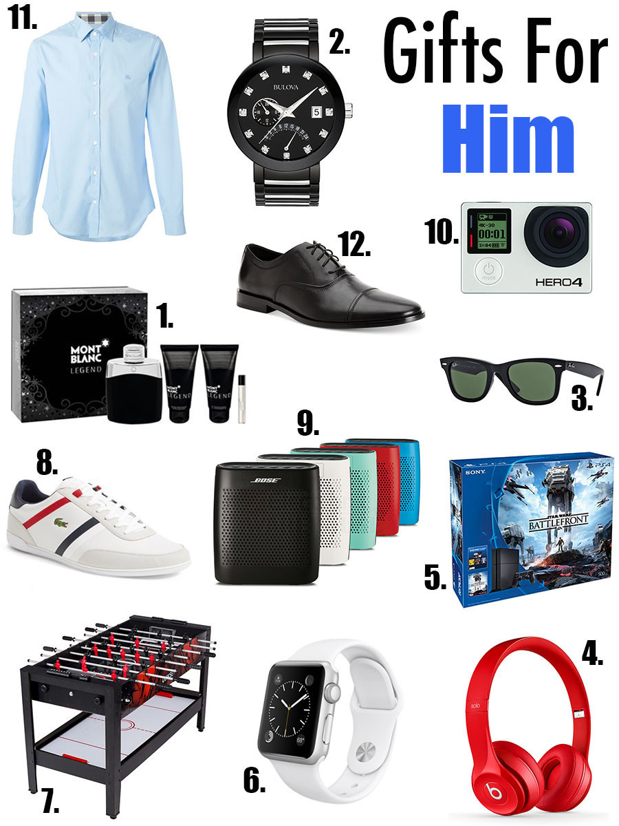 First Christmas Together Gift Ideas For Him  Christmas Gifts For Him