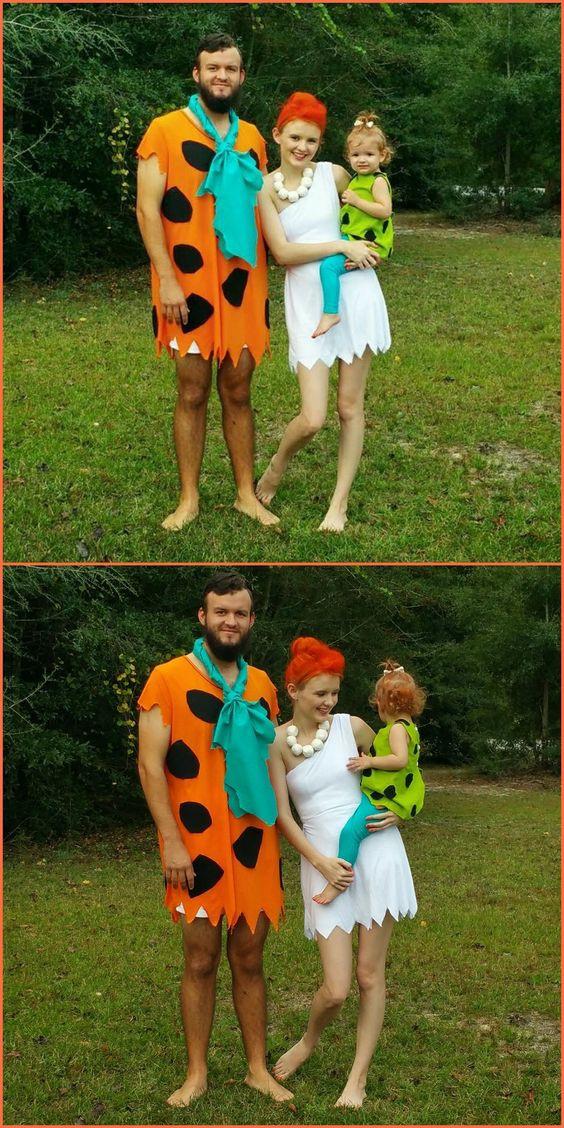 Flintstones Costumes DIY  Halloween costumes Halloween and Flintstones halloween