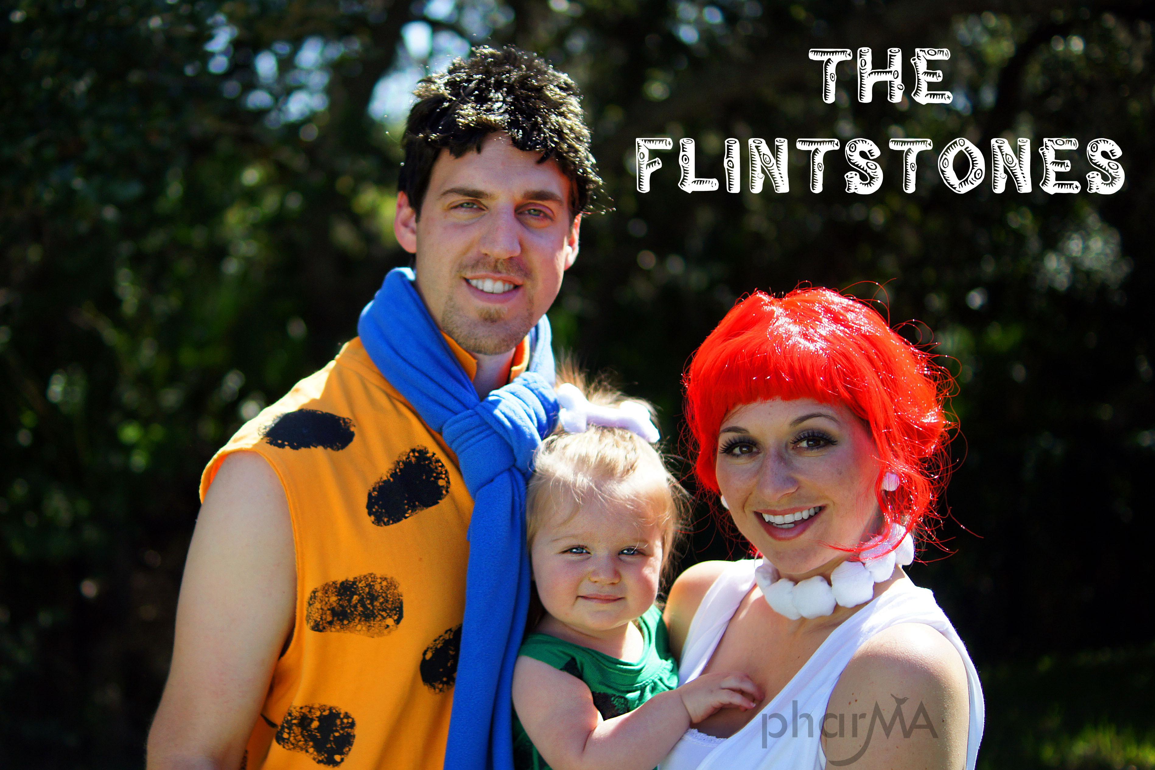 Flintstones Costumes DIY  The Flintstones Family Halloween Costumes