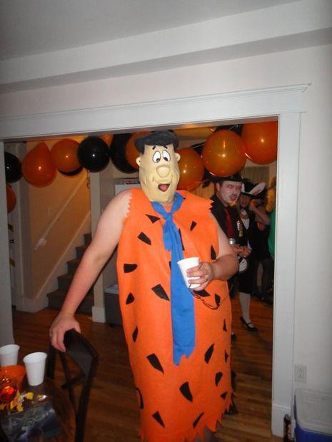 Flintstones Costumes DIY  Fred Flintstone Costume