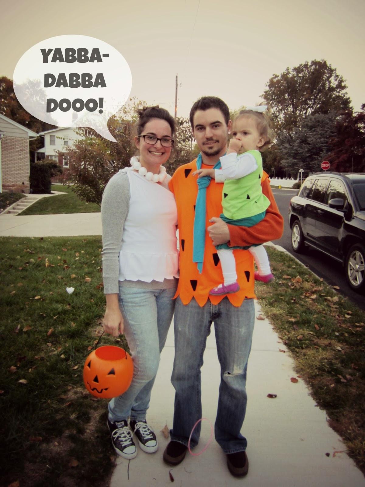 Flintstones Costumes DIY  Kara s Domestic Life halloween 13