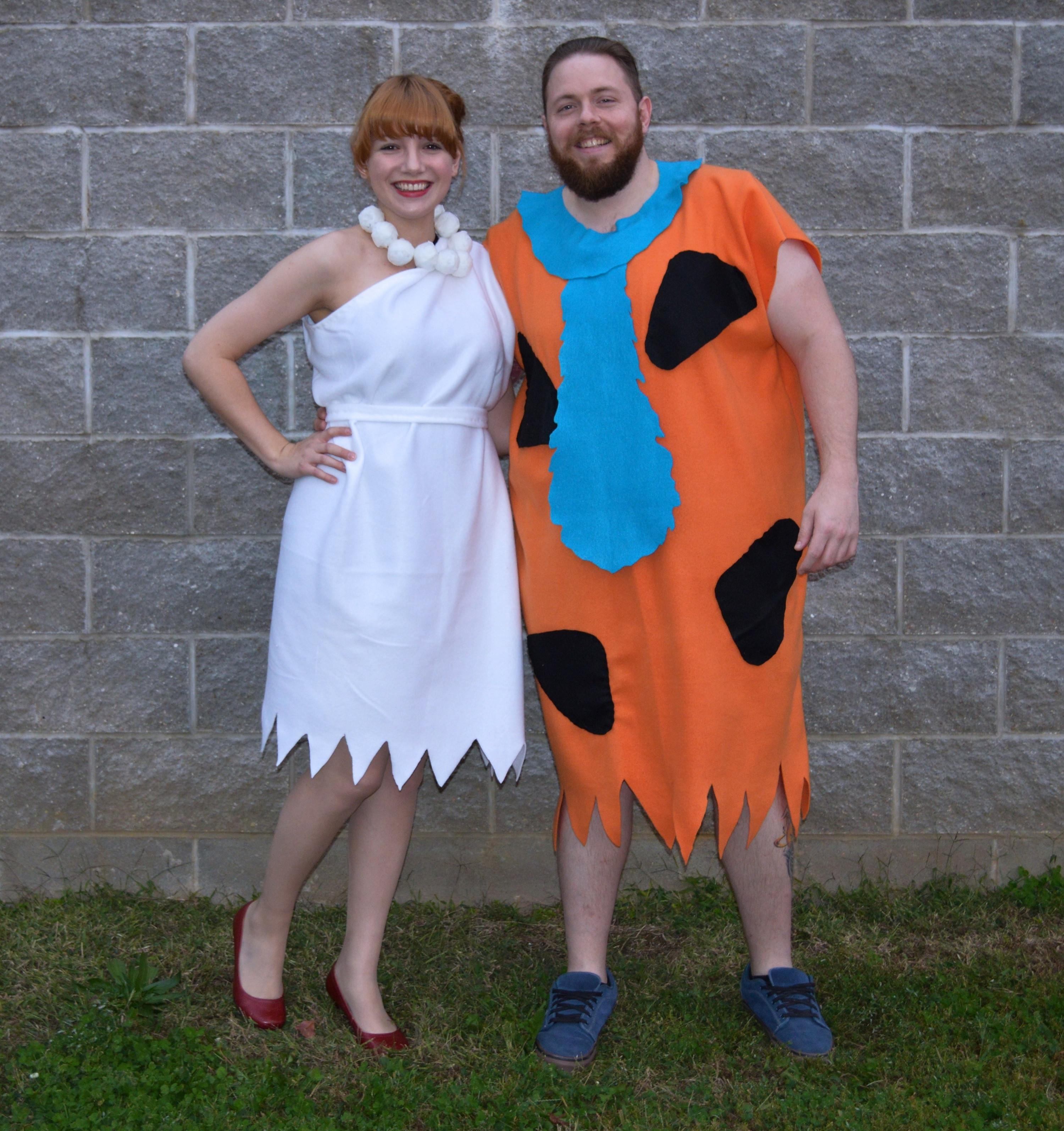 Flintstones Costumes DIY  Yabba dabba BOO – Oh Julia Ann