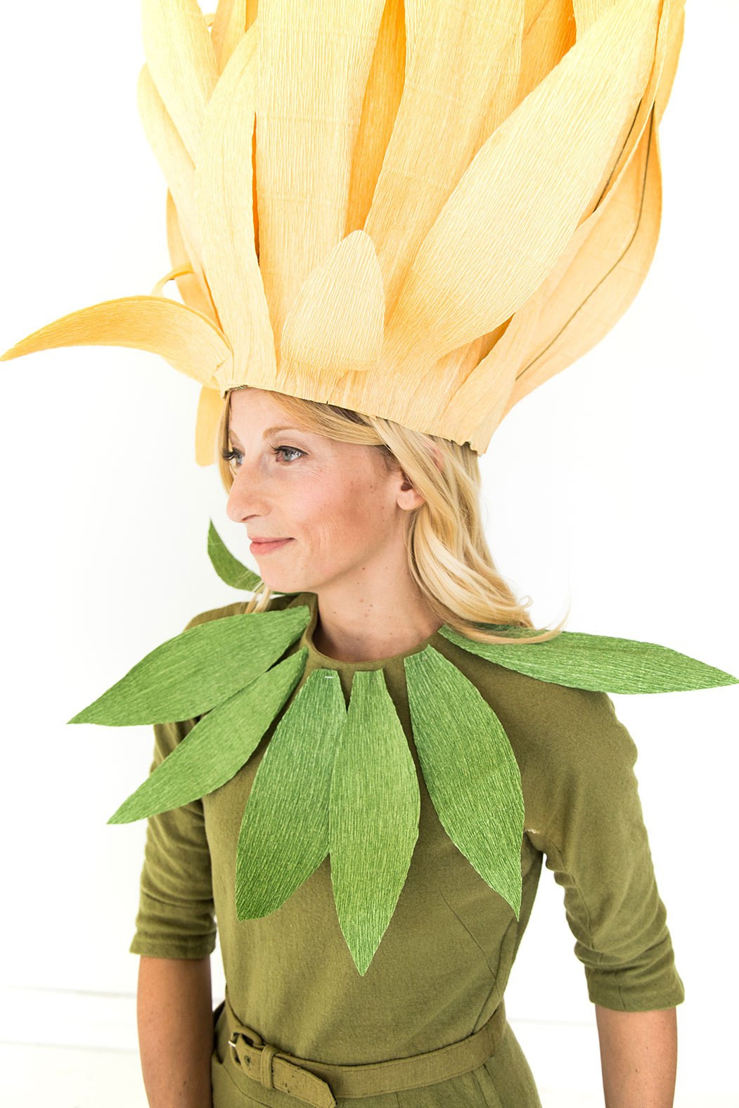 Flower Halloween Costume For Adults  Chrysanthemum mom and daughter costume