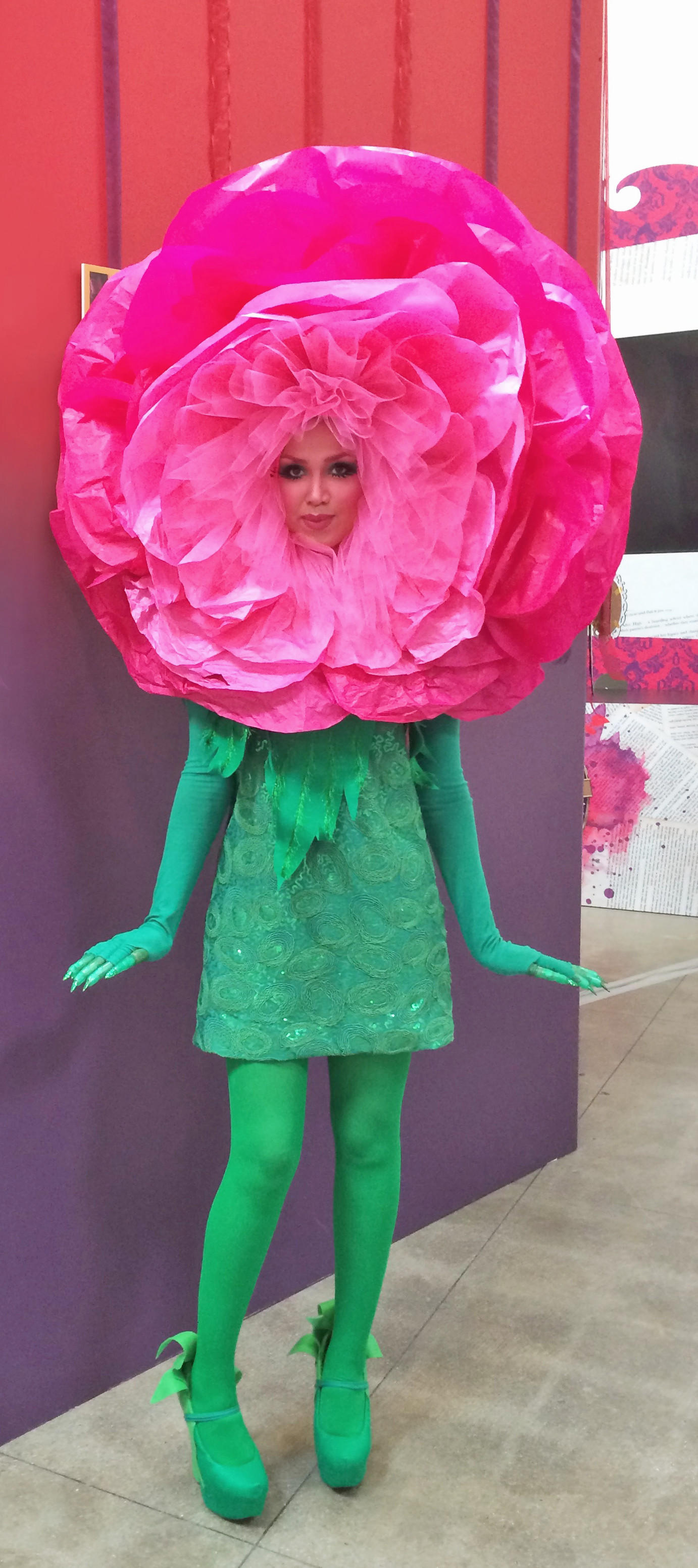 Flower Halloween Costume For Adults  Flower Face The Beautifulcircus