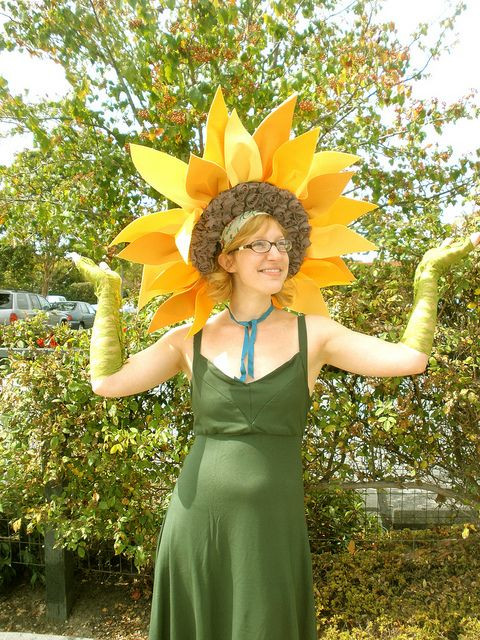 Flower Halloween Costume For Adults  Sunflower Costume