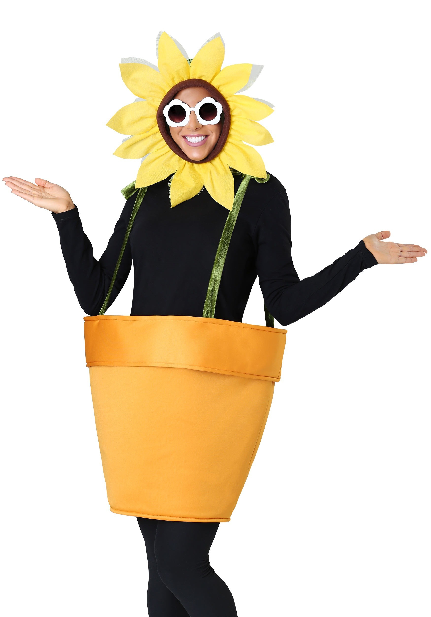 Flower Halloween Costume For Adults  Flower Pot Costume for Adults