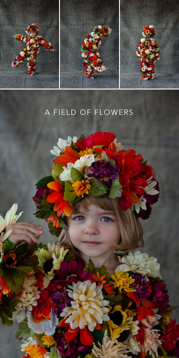 Flower Halloween Costume For Adults  Field of Flowers Costume