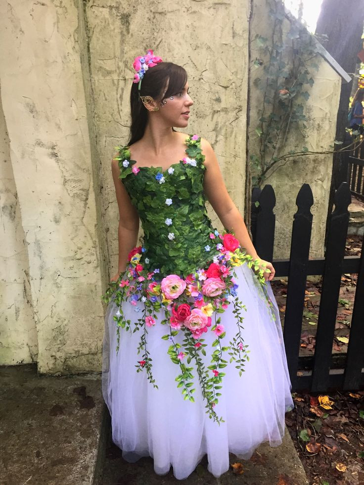 Flower Halloween Costume For Adults  25 best ideas about Fairy costume adult on Pinterest