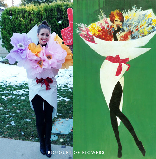 Flower Halloween Costume For Adults  Halloween contest The House That Lars Built