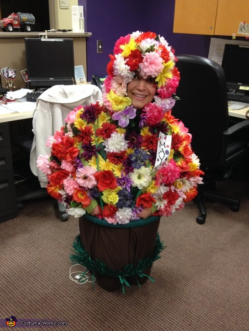 Flower Halloween Costume For Adults  Adult Flower Pot Costume