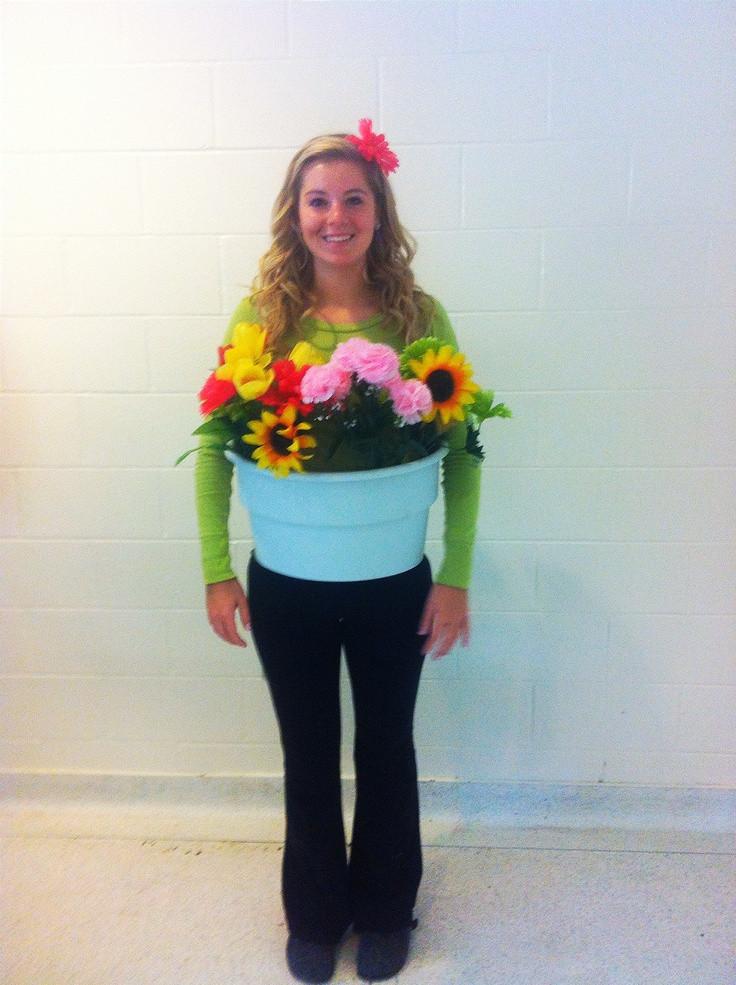 Flower Halloween Costume For Adults  Best 25 Flower pot costume ideas on Pinterest