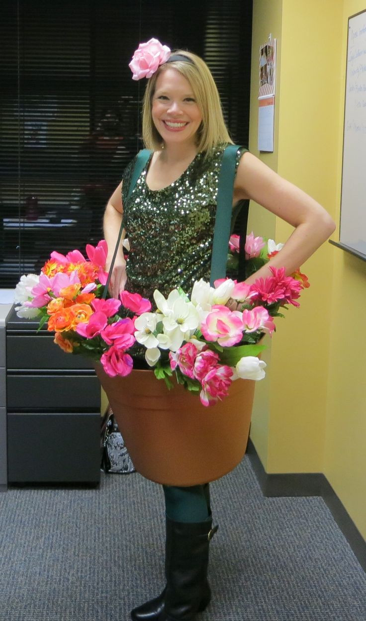 Flower Halloween Costume For Adults  17 Best ideas about Flower Pot Costume on Pinterest