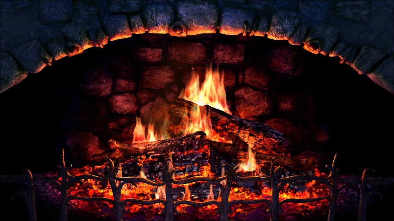 Free Christmas Fireplace Screensaver  Fireplace 3D Screensaver