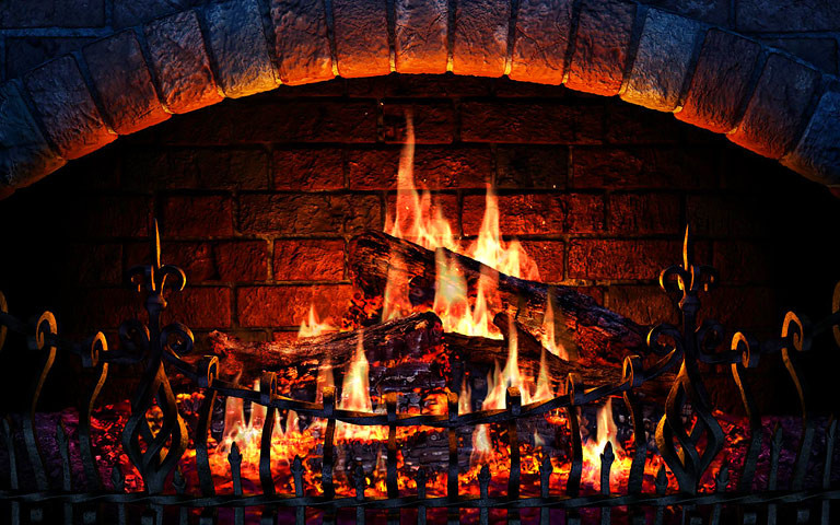Free Christmas Fireplace Screensaver  Screenshots for Fireplace 3D Screensaver 2