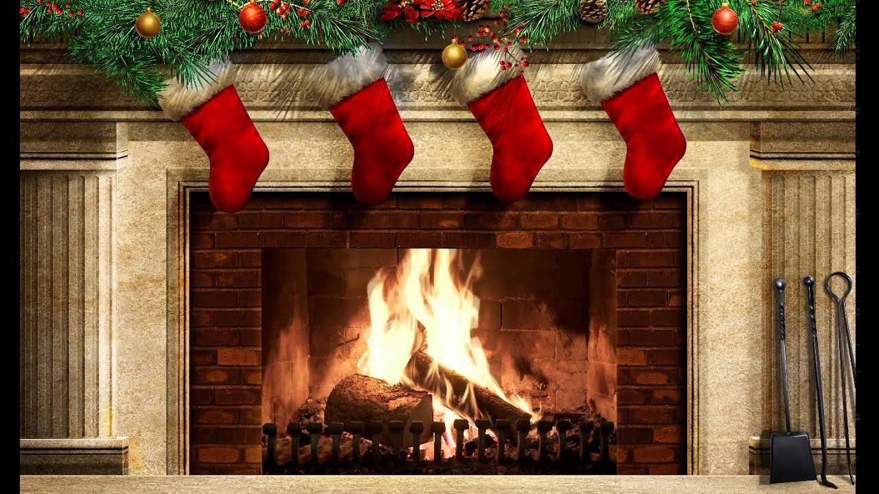 Free Christmas Fireplace Screensaver  Christmas Fireplace Ex v2 Screensaver