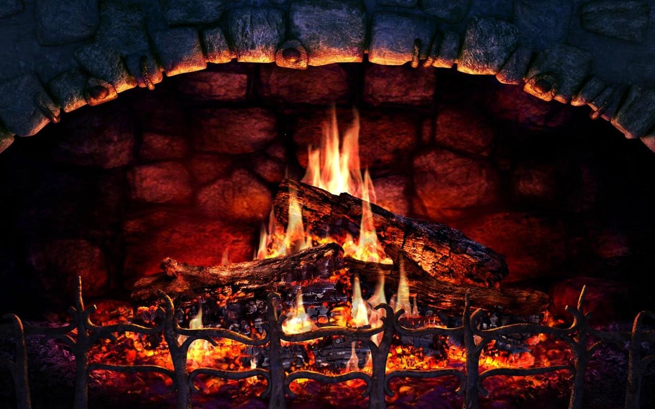 Free Christmas Fireplace Screensaver  Fireplace 3D Lite 1 1 0 free for Mac