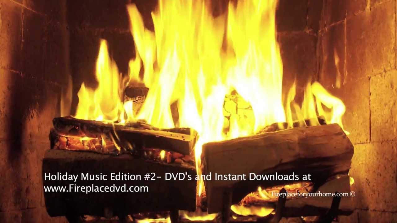 Free Christmas Fireplace Screensaver  Fireplace The Best Christmas Yule Log Fireplace FREE