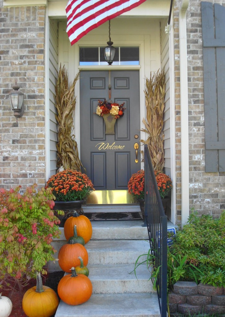 Front Porch Fall Decorations  10 Beautiful Ideas for Front Porch Fall Decoration