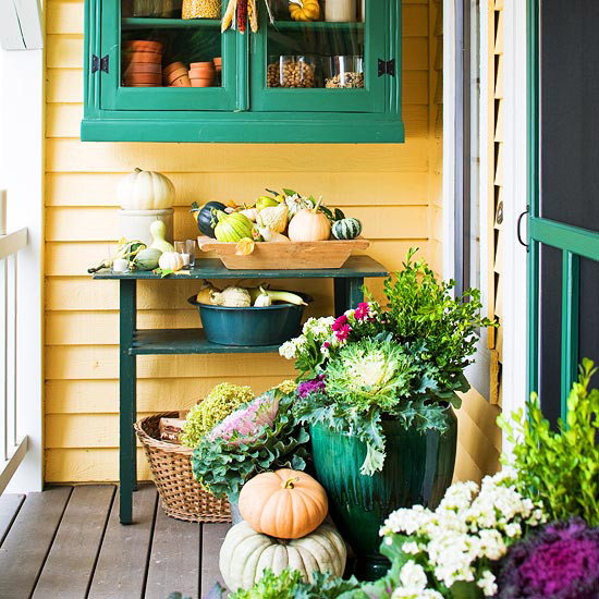 Front Porch Fall Decorations  Front Porch Decorating Ideas For Fall
