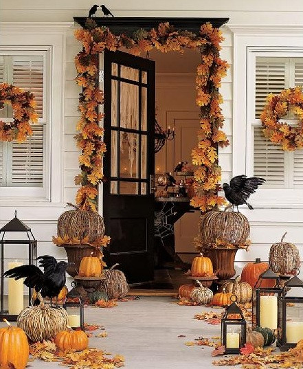 Front Porch Fall Decorations  Anyone Can Decorate The Fall Front Porch