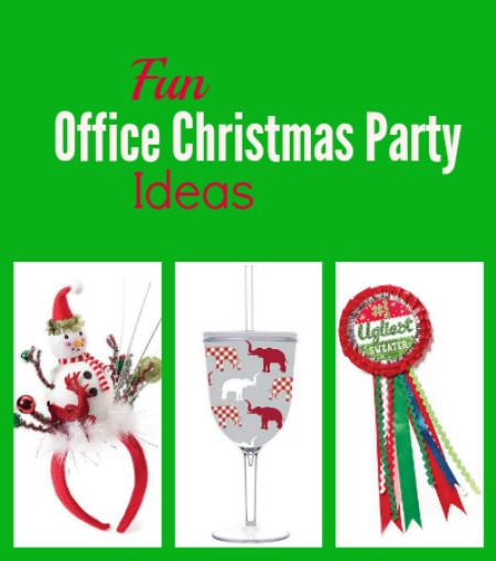 Fun Office Christmas Party Ideas  Fun fice Christmas Party Ideas Thrifty Jinxy