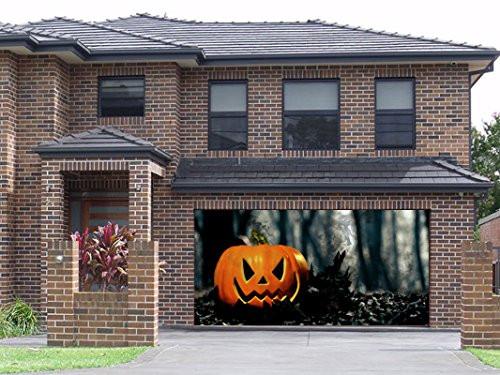 Garage Door Halloween Decoration  Great Stuff • Garage Door Halloween Decorations