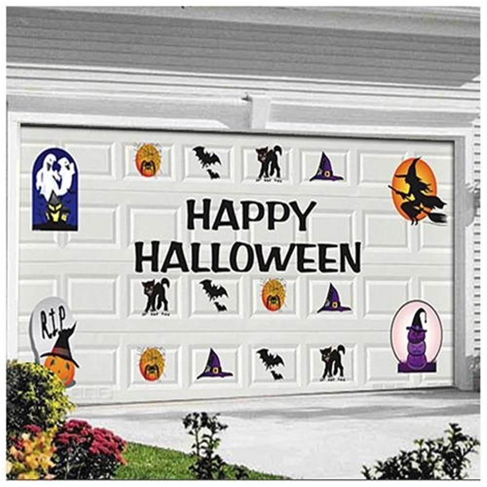 Garage Door Halloween Decoration  Halloween Garage Door Magnets Case