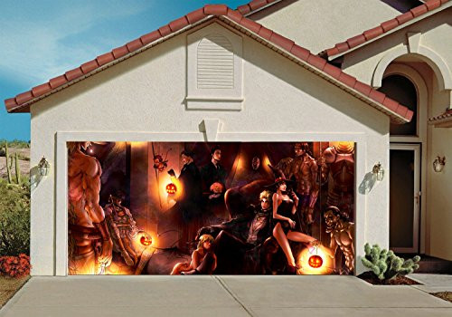 Garage Halloween Decorations  Great Stuff • Garage Door Halloween Decorations