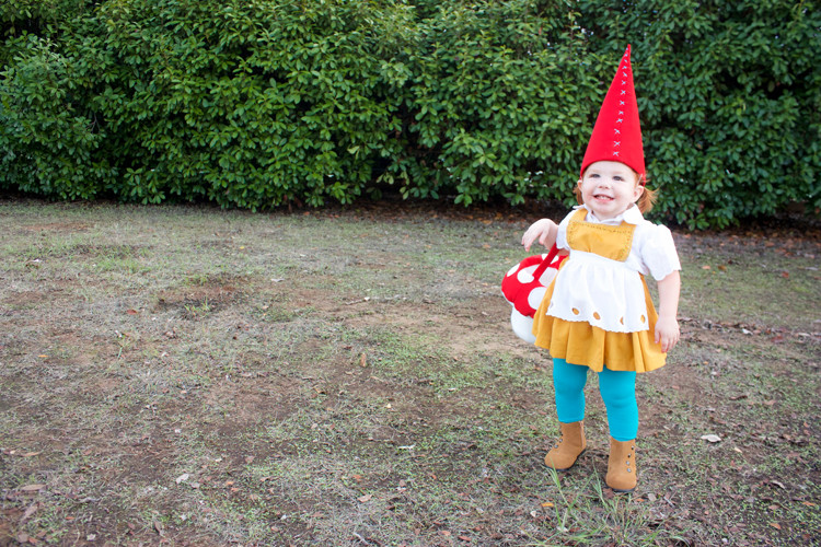 Garden Gnome Costume DIY  40 Easy & Cute DIY Halloween Costumes for Kids