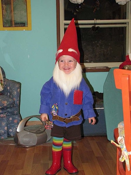 Garden Gnome Costume DIY  How To Gnome Costume