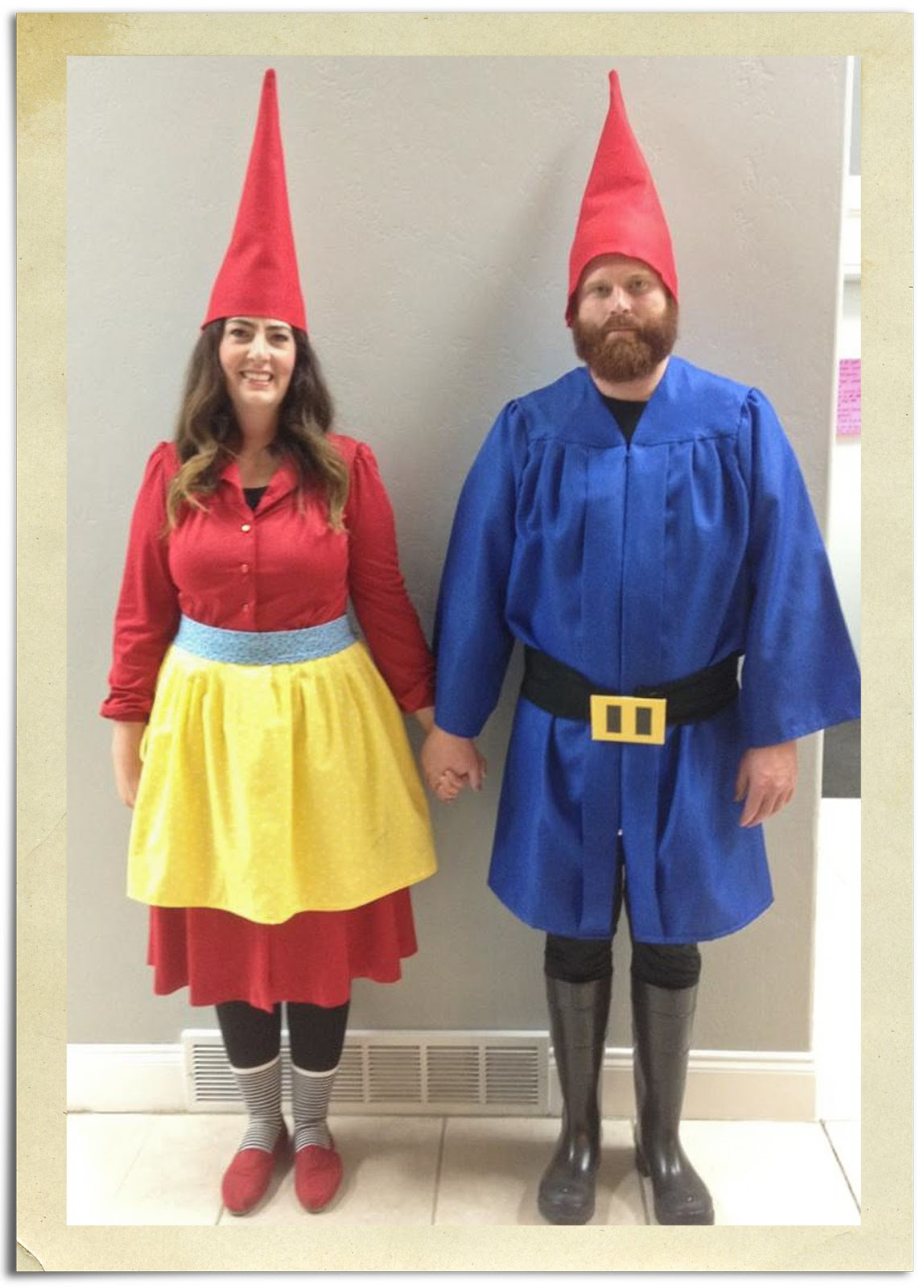 Garden Gnome Costume DIY  all things simple Halloween costume garden gnomes