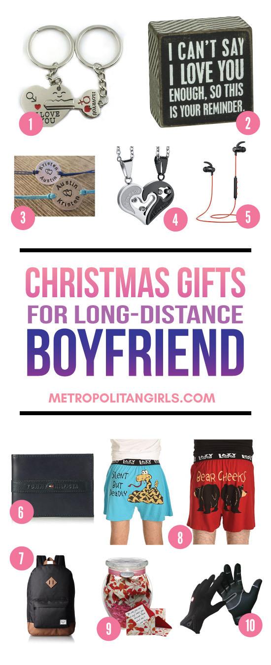 Gift Ideas For Boyfriend For Christmas  Christmas Gift Ideas for Long Distance Boyfriend 2017