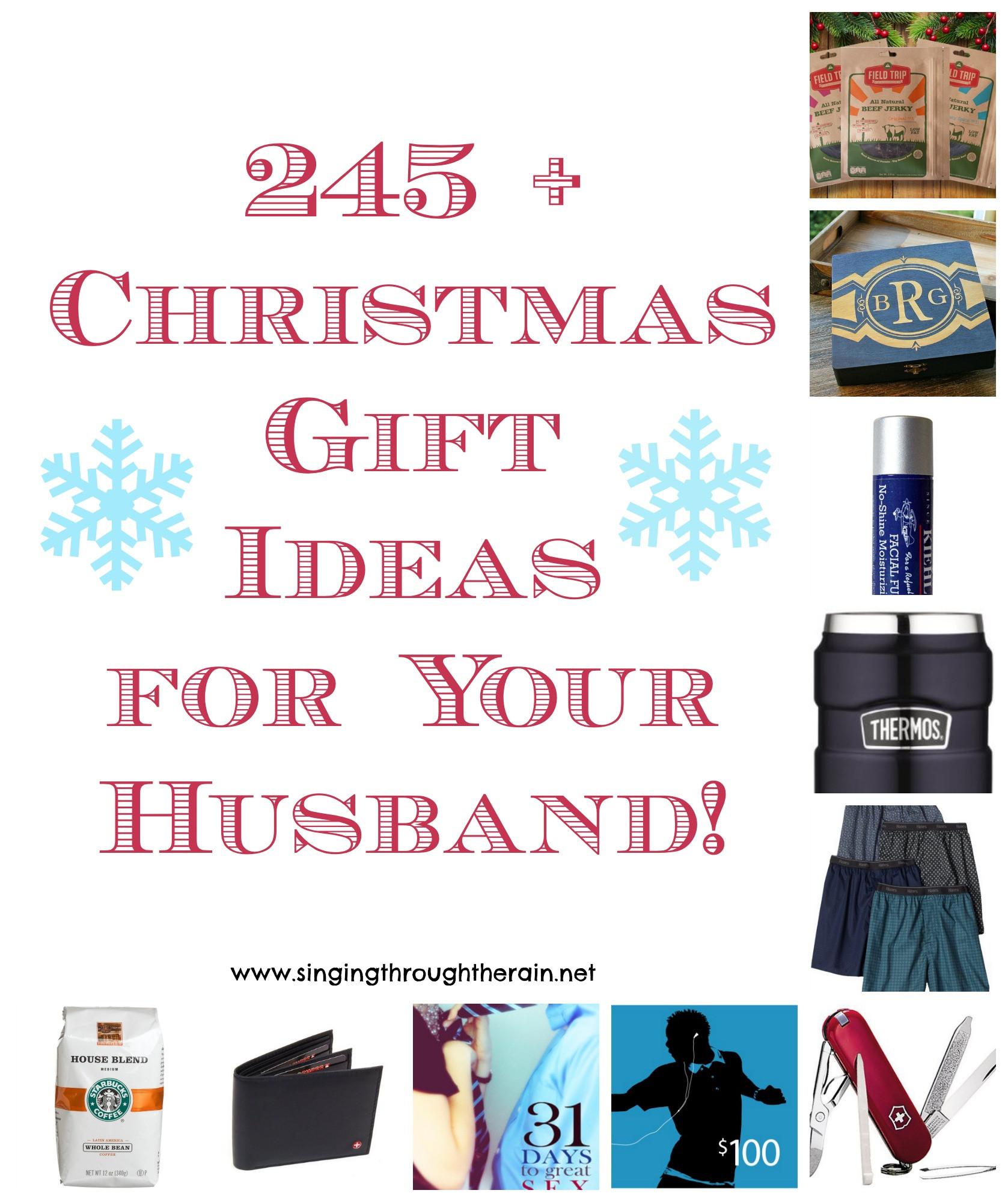 Gift Ideas For Husband For Christmas  245 Christmas Gift Ideas for Your Husband